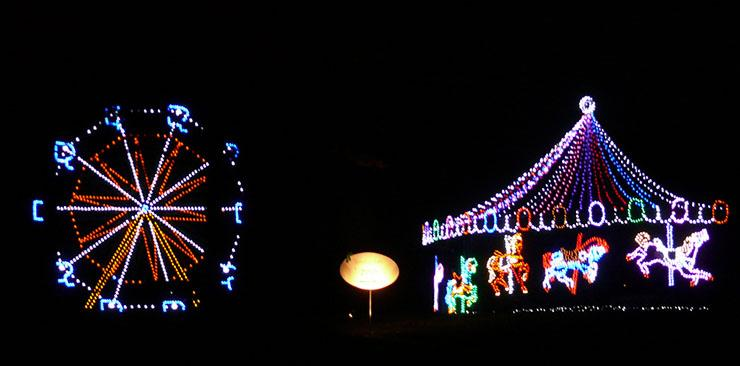 For spectacular holiday light shows, go here