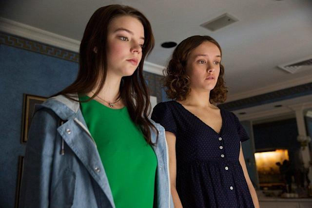 """Anya Taylor-Joy and Olivia Cooke in """"Thoroughbreds."""""""