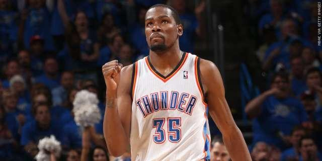 Kevin Durant is the NBA's 2013-14 Most Valuable Player, as he should be