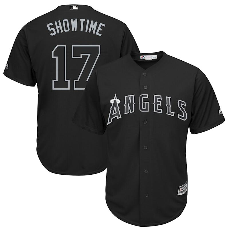 "Shohei Ohtani ""Showtime"" Los Angeles Angels 2019 Players' Weekend Jersey"