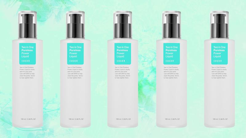 The New Cosrx Two In One Poreless Power Liquid Is Like Glass Skin In