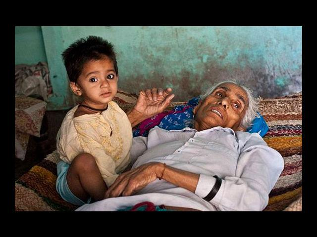<b>1. Oldest Mother In The World</b><br>The honor for the oldest mother in the world goes to a 70-year-old Indian, Omkari Singh. In spite of having two daughters and five grand-children, the Singhs were keen on having a baby boy and they achieved it through vitro-fertilization. Singh fgave birth to twins, a boy and a girl by Caesarean section. The doctors are confident that the healthy babies will survive despite their mother's old age.