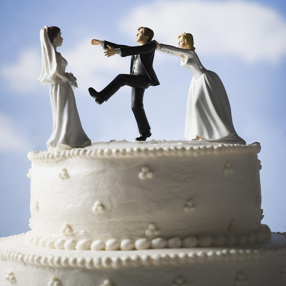 Marriage cake visual: Getty Images