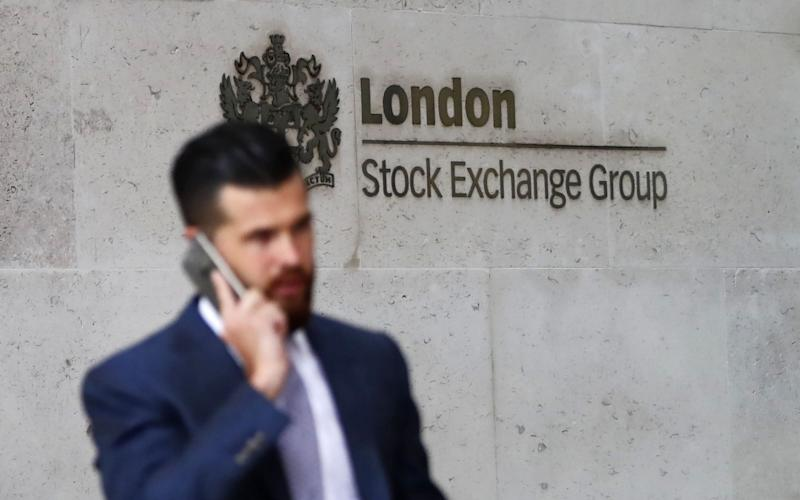 The FTSE 100 and 250 failed to open at the usual time - AFP