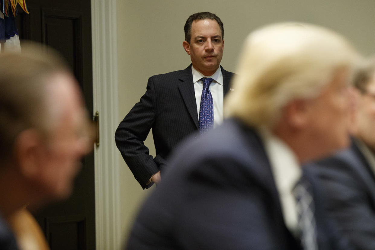 White House chief of staff Reince Priebus (Photo: Evan Vucci/AP)