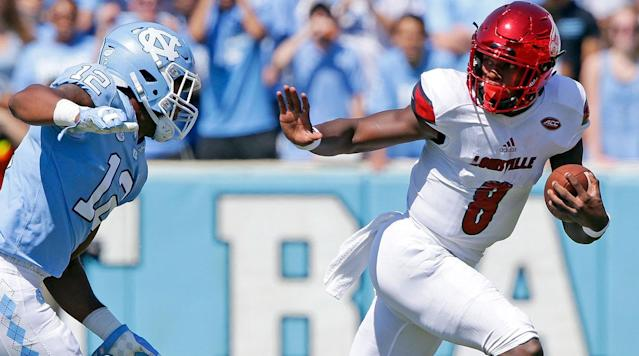 <p>The Heisman Trophy is given out to the most outstanding player in college football.</p><p>First awarded in 1935, the Heisman has become one of the most coveted trophies in all of sports.</p><p><em>Below is a list of every winner:</em></p><p>1935 – Jay Berwanger, running back, Chicago<br>1936 – Larry Kelley, end, Yale<br>1937 – Clint Frank, quarterback, Yale<br>1938 – Davey O'Brien, quarterback, TCU<br>1939 – Nile Kinnick, running back, Iowa<br>1940 – Tom Harmon, running back, Michigan<br>1941 – Bruce Smith, running back, Minnesota<br>1942 – Frank Sinkwich, running back, Georgia<br>1943 – Angelo Bertelli, quarterback, Notre Dame<br>1944 – Les Horvath, quarterback, Ohio State<br>1945 – Doc Blanchard, fullback, Army<br>1946 – Glenn Davis, running back, Army<br>1947 – John Lujack, quarterback, Notre Dame<br>1948 – Doak Walker, running back, Southern Methodist<br>1949 – Leon Hart, end, Notre Dame<br>1950 – Vic Janowicz, running back, Ohio State<br>1951 – Dick Kazmaier, running back, Princeton<br>1952 – Billy Vessels, running back, Oklahoma<br>1953 – John Lattner, running back, Notre Dame<br>1954 – Alan Ameche, fullback, Wisconsin<br>1955 – Howard Cassady, running back, Ohio State<br>1956 – Paul Hornung, quarterback, Notre Dame<br>1957 – John David Crow, running back, Texas A&M<br>1958 – Pete Dawkins, running back, Army<br>1959 – Billy Cannon, running back, Louisiana State<br>1960 – Joe Bellino, running back, Navy<br>1961 – Ernie Davis, running back, Syracuse<br>1962 – Terry Baker, quarterback, Oregon State<br>1963 – Roger Staubach, quarterback, Navy<br>1964 – John Huarte, quarterback, Notre Dame<br>1965 – Mike Garrett, running back, USC<br>1966 – Steve Spurrier, quarterback, Florida<br>1967 – Gary Beban, quarterback, UCLA<br>1968 – O.J. Simpson, running back, USC<br>1969 – Steve Owens, fullback, Oklahoma<br>1970 – Jim Plunkett, quarterback, Stanford<br>1971 – Pat Sullivan, quarterback, Auburn<br>1972 – Johnny Rodgers, running back, Nebraska<br>1973 – John Cappelletti,