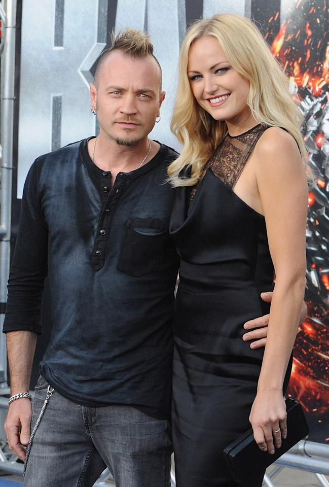 "<b>Still Rocking</b><br>While many of the cast had to go to rock camp for the shoot, <a href=""http://movies.yahoo.com/person/malin-akerman/"">Malin Akerman</a> was already well versed in the ways of rock. Akerman, who plays Rolling Stone reporter Constance Sack, used to be the lead singer of the alternative rock band ""<a href=""http://music.yahoo.com/petalstones/"">The Petalstones</a>."" Akerman left the band in 2005, but she didn't make a clean getaway: she married the drummer, Roberto Zincone, in 2007.<br>"