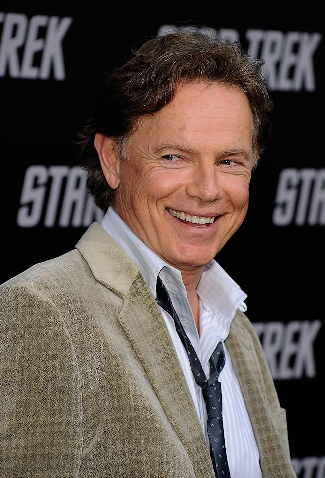 """<a href=""""http://movies.yahoo.com/movie/contributor/1800018869"""">Bruce Greenwood</a> at the Los Angeles premiere of <a href=""""http://movies.yahoo.com/movie/1809752801/info"""">Star Trek</a> - 04/30/2009"""