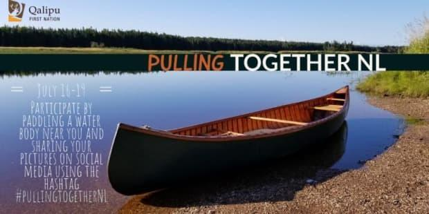 The Qalipu First Nation will take part in a Pulling Together expedition this weekend. People are encouraged to share their own pictures of canoeing. (Qalipu First Nation - image credit)