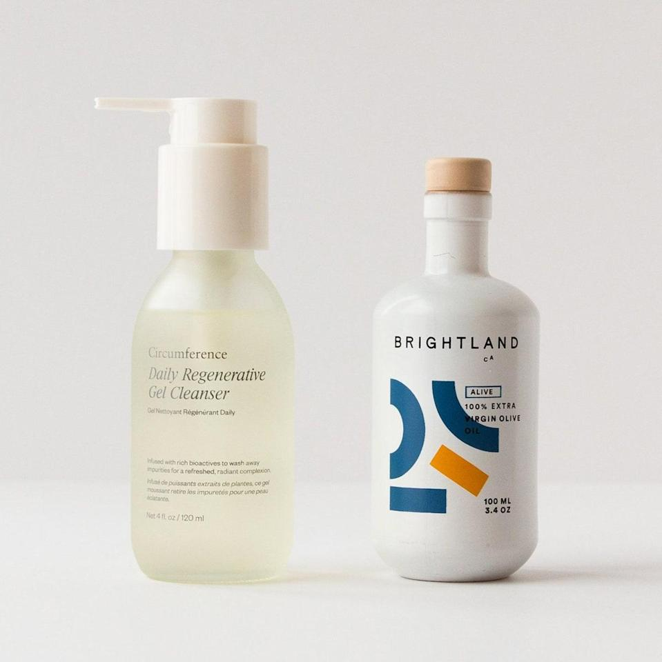 """$65, Circumference. <a href=""""https://www.circumferencenyc.com/collections/shop-skincare/products/root-to-leaf-set"""" rel=""""nofollow noopener"""" target=""""_blank"""" data-ylk=""""slk:Get it now!"""" class=""""link rapid-noclick-resp"""">Get it now!</a>"""