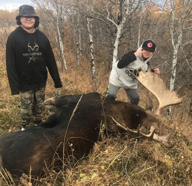 Iron was with his children Cecilia, 9, and Hunter, 11, when they were stopped by the conservation officer last December.