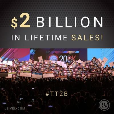 Le-Vel Surpasses $2 Billion in Sales