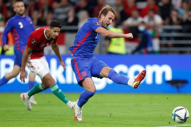 Kane scored a fine goal from distance to put England ahead in Warsaw.