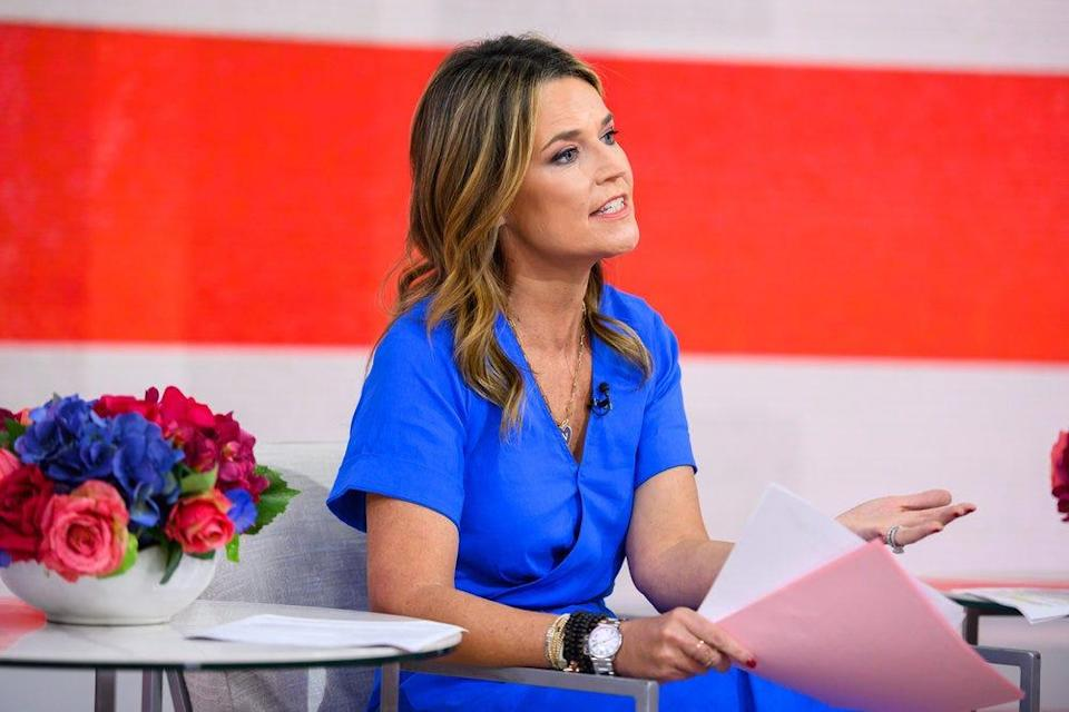 """""""Today"""" anchor Savannah Guthrie will mark her first stint hosting an Olympics opening ceremony in Tokyo July 23, teaming up with Mike Tirico."""