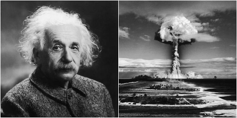 Albert Einstein Atomic Bomb