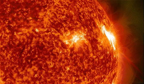 Solar Flares Fire Off Antimatter Particles