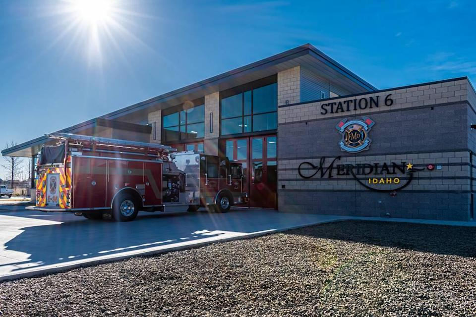 Meridian opened Fire Station 6 in March 2020. It is approximately 10,000 square feet. The proposed stations will be approximately 11,000 square feet.