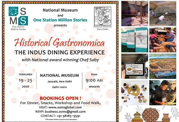 National Museum, Harappan Civilisation, non-vegetarian dishes, harappan menu, Indus Valley civilization, Indus dining experience, india news. Indian Express