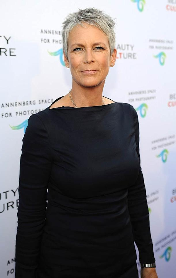 """Jamie Lee Curtis, who was quite the hottie in her day, also hit the red carpet. She obviously didn't feel like talking about the scandal involving her old friend Arnold Schwarzenegger's marital woes, though. CNN reported that she abruptly walked away when a reporter asked about it. Stefanie Keenan/<a href=""""http://www.wireimage.com"""" target=""""new"""">WireImage.com</a> - May 19, 2011"""