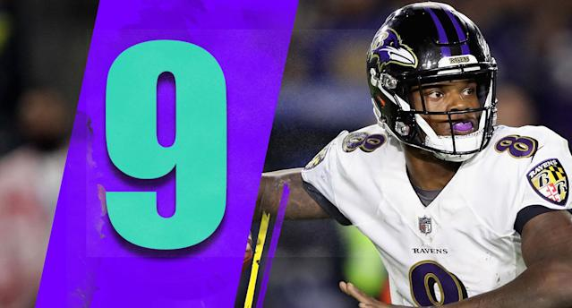 <p>We all know about Lamar Jackson's running ability, but he's capable as a passer. He has at least 125 yards and 12 completions in each start. No, that's not Patrick Mahomes-level production. But with how well the Ravens run the ball, it's fine. (Lamar Jackson) </p>