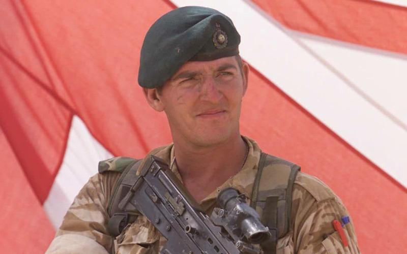 Alexander Blackman - also known as Marine A - is in a west country cottage with wife Claire - PA