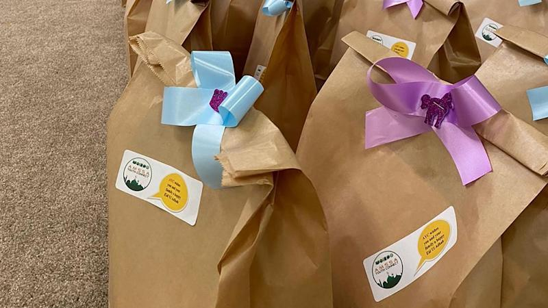Volunteers have made up Eid al-Adha gift bags for public housing residents across Melbourne