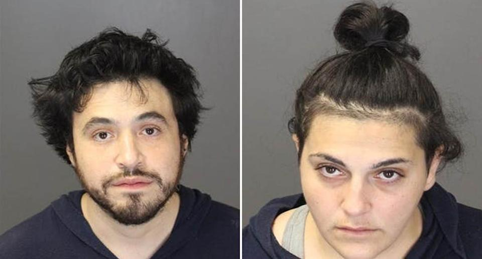 A homeless couple have been charged over the death of their 14-month-old son. Source: Farmington Hills Police