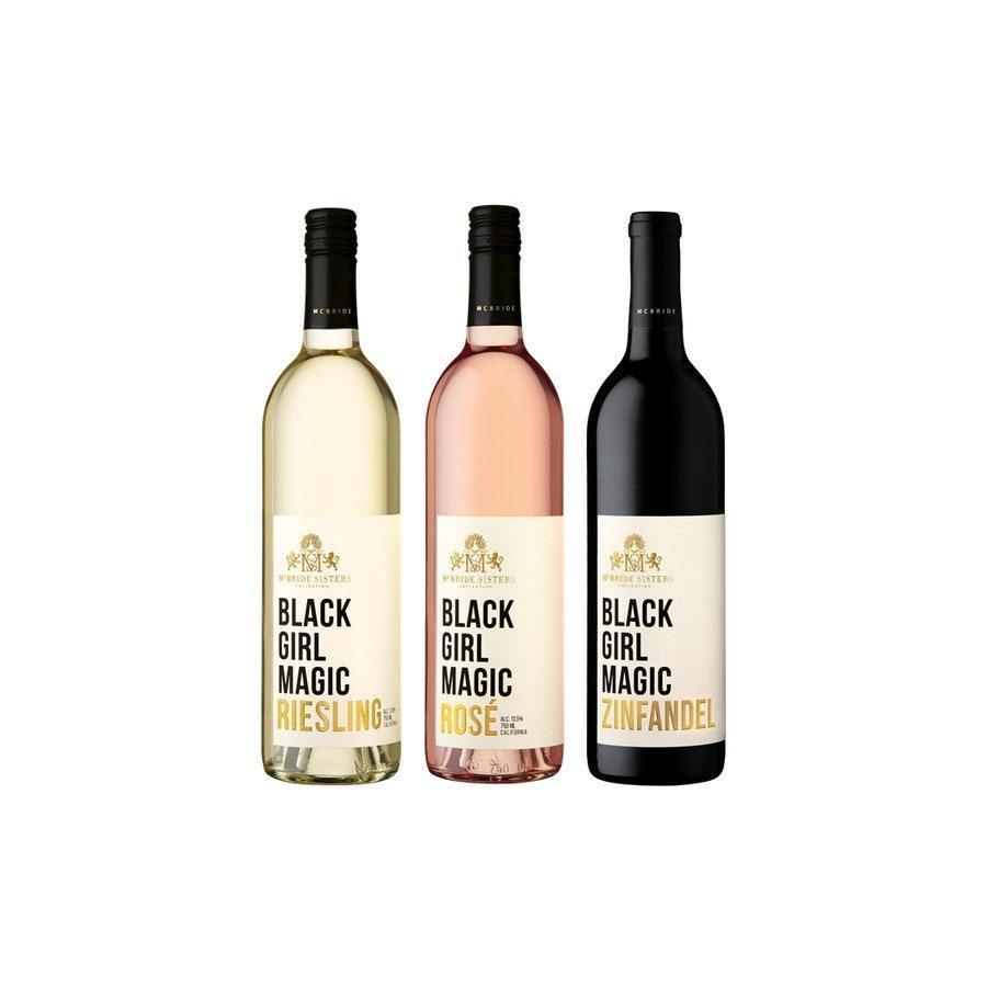 "<p>Few things are more magical than a good glass of wine. McBride Sisters Black Girl Magic Wine Gift Set is not only Black-owned, but it also comes with a delicious trio of riesling, rosé, and red zinfandel to suit every wine aficionado's taste. </p> <p><strong>$65</strong> (<a href=""https://www.mcbridesisters.com/product/McBride-Sisters-Collection-Black-Girl-Magic-Trio?productListName=Holiday%20Gift"" rel=""nofollow noopener"" target=""_blank"" data-ylk=""slk:Shop Now"" class=""link rapid-noclick-resp"">Shop Now</a>)</p>"