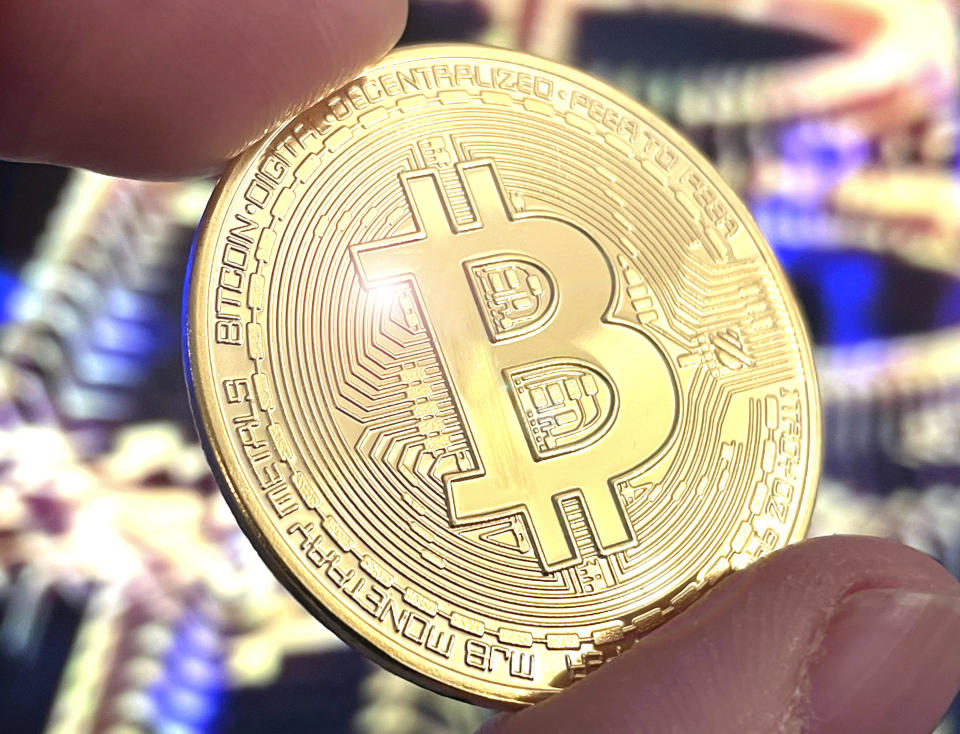 Photo by: STRF/STAR MAX/IPx 2021 1/29/21 Bitcoin prices rise as much as 20% today as large fluctuations in the stock market continue.