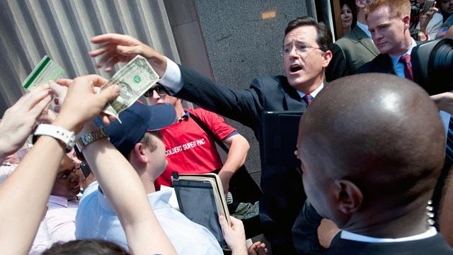 A Stephen Colbert Write-In Campaign in S.C.? Not So Fast