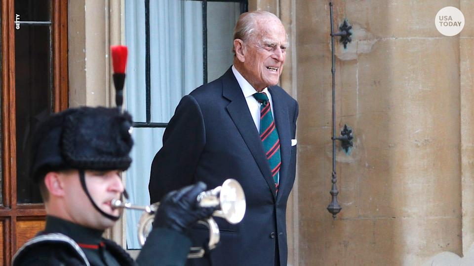 Prince Philip has been hospitalized since Feb. 16, when he was treated for an infection.
