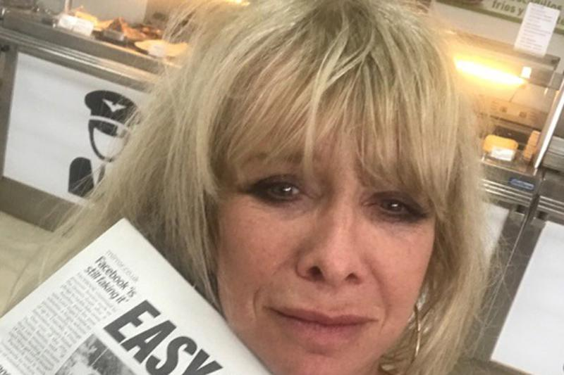 Compensation: Jo Wood has been awarded £747 by EasyJet: Jo Wood/Twitter