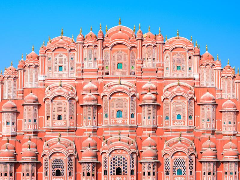 Hawa Mahal or Palace of the Winds in Jaipur, India: istock