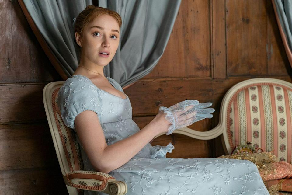 <p>Phoebe Dynevor is a *relative* newcomer (as in, this is her first major leading role), but you've definitely seen her before. Not only does she play Clare in <em>Younger</em>, she played Lotti in <em>Snatch</em> alongside <del>Ron Weasley</del> Rupert Grint.</p>