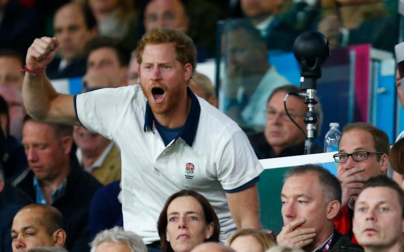 The RFU says that Prince Harry will continue to be its patron - Reuters