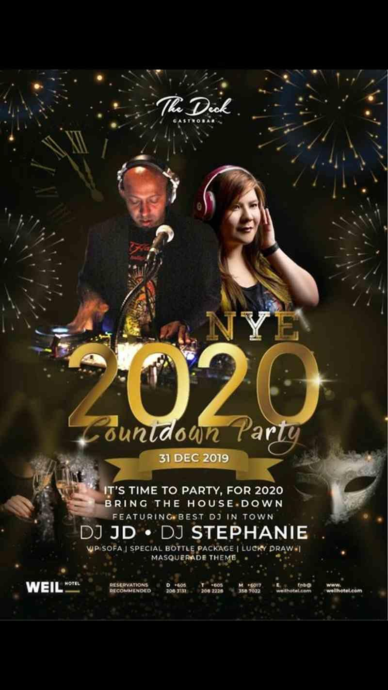 End the year with a bang at The Deck Gastrobar's countdown party in Ipoh. ― Picture via Facebook/thedeckgastrobar