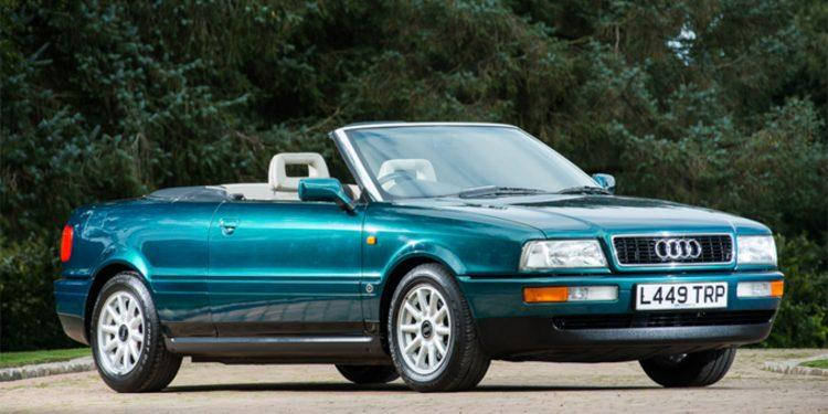 Car Auctions Ny >> Princess Diana S 1994 Audi Cabriolet Is Up For Sale