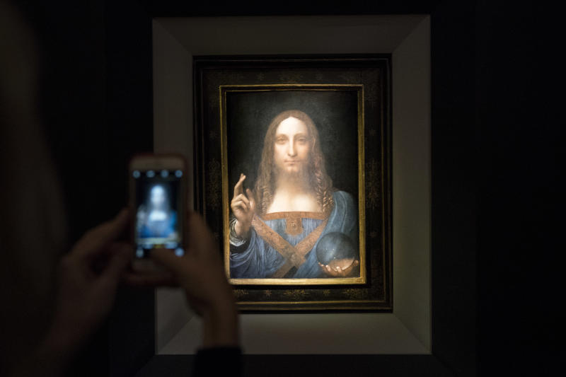 Christie's To Auction Leonardo da Vinci's