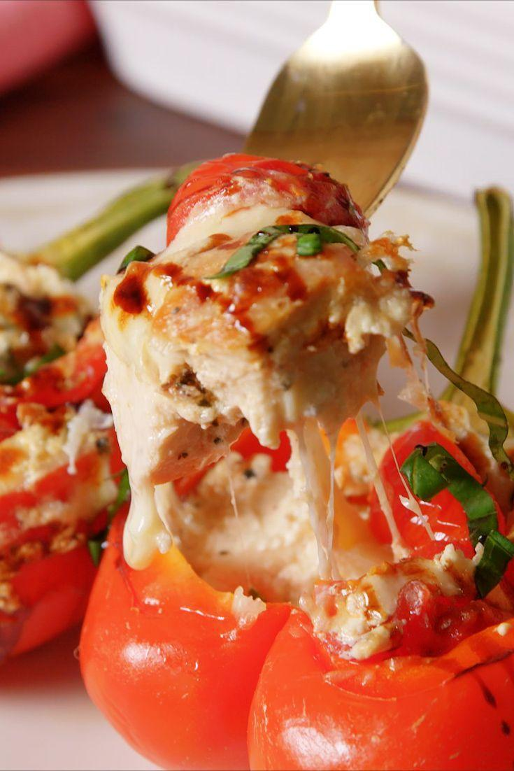 "<p>The only way to stuff yourself.</p><p>Get the recipe from <a href=""https://www.delish.com/cooking/recipe-ideas/recipes/a52618/caprese-chicken-stuffed-peppers-recipe/"" rel=""nofollow noopener"" target=""_blank"" data-ylk=""slk:Delish"" class=""link rapid-noclick-resp"">Delish</a>. </p>"