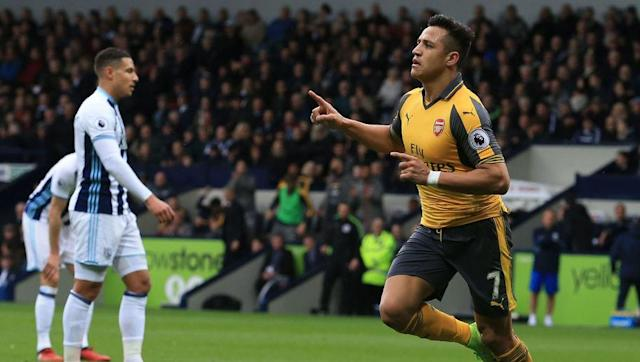 <p>Alexis Sanchez is by far and away Arsenal's best player, and like Kevin De Bruyne, would make the majority of combined football XIs.</p> <br><p>Sanchez has been deployed up top for most of the season by Arsene Wenger, but is naturally a winger, with a big eye for goal.</p> <br><p>As such, he comes in on the left at the harsh expense of Manchester City's Leroy Sane, who looks like fantastic prospect for the future at the Etihad.</p> <br><p>But at the end of the day Sanchez is a proven world class talent, who may only be around for 11 more Premier League games... </p>