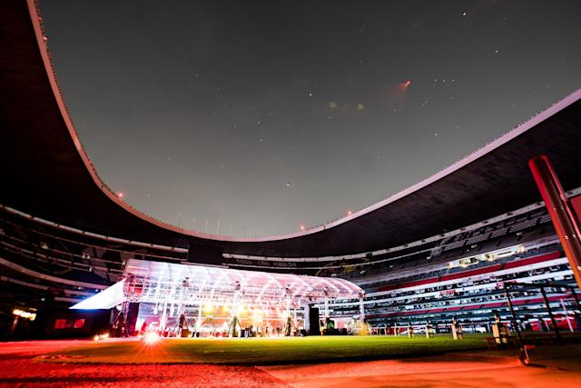 One of the most iconic venues in all of sports hosted the world's most coveted trophy on a magical evening in Mexico City