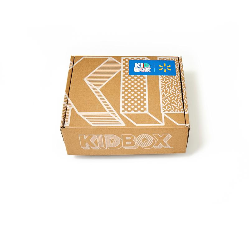 For all Walmart KIDBOX style boxes purchased, KIDBOX will dress a child in need through the partnership to deliver well.