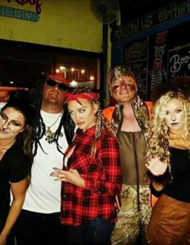 "<p>""People are so sensitive!"" That was what the country singer said when called out for dressing in blackface to be Lil Wayne in 2015. ""Me doing that had zero malicious intent. I get that race is a touchy subject, but not everybody is that way."" (Photo: nashvillegab.com) </p>"