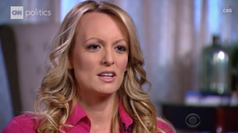 Stormy's pupils during her bombshell interview have come under scrutiny. Photo: CNN