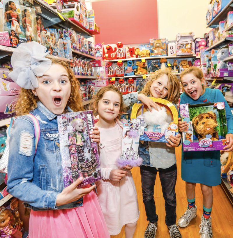 The annual Toy Mania sale is highly anticipated by kids and parents alike. Photo: Instagram/bigwaustralia.