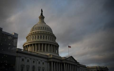 <span>Congress heard arguments on a reparations commission this summer</span> <span>Credit: Reuters </span>