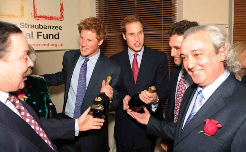 William and Harry with definitely be celebrating this happy time. Photo: Getty