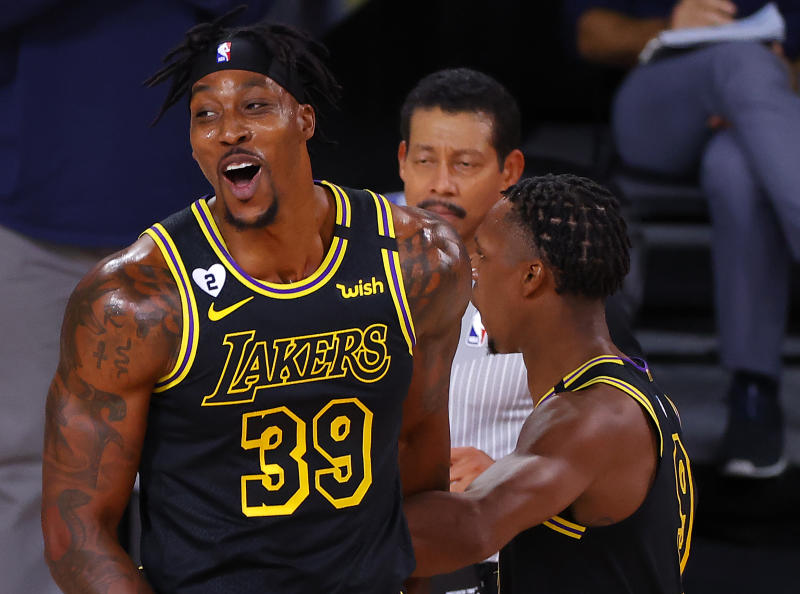 Has Lakers center Dwight Howard harnessed his annoying for good? (Kevin C. Cox/Getty Images)