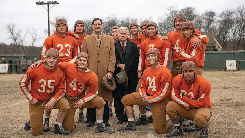 <p>Martin Sheen stars in this feature, based on a true story, about a football team at a Depression-era Texas orphanage that finds unexpected success and recognition. Directed by Ty Roberts (who wrote the film with Lane Garrison and Kevin Meyer), <em>12 Mighty Orphans</em> is an inspiring story of grit and perseverance—about a group of underdogs who ended up changing the game of football forever.</p>
