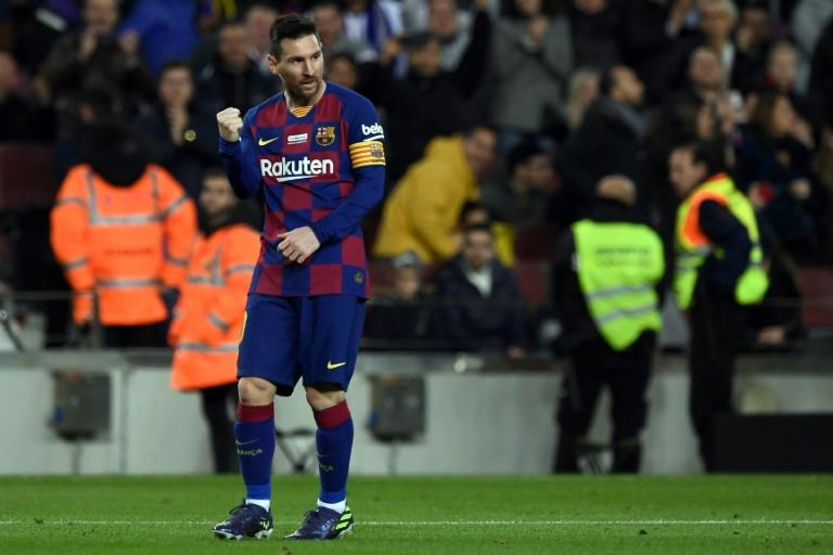 Lionel Messi was in unstoppable form as Barcelona defeated Mallorca 5-2 in Spain